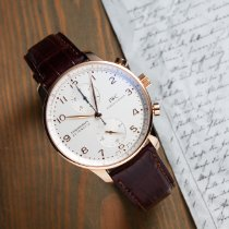 IWC Portuguese Chronograph tweedehands 40.9mm Roodgoud
