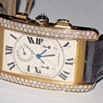 Cartier Tank Américaine Sehr gut Gelbgold 26mm Quarz