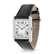 Cartier Tank Louis W1540956 Men's Watch in 18K White Gold