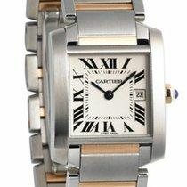 Cartier Tank Française new Quartz Watch with original box and original papers W51012Q4