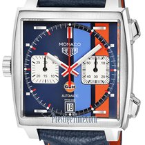TAG Heuer Monaco Steel 39mm Blue United States of America, New York, Airmont