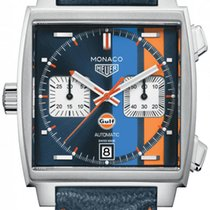 TAG Heuer Monaco Steel 39mm Blue