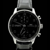 IWC Portugieser Chronograph - Referenz: IW371447 - Box/Papiere...