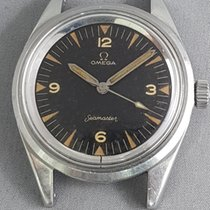 Omega Railmaster Seamaster dial P.A.F.1963 straight pencil hands