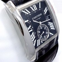 Cartier Tank Mc W5330004 Automatic Black Dial Box & Papers ...