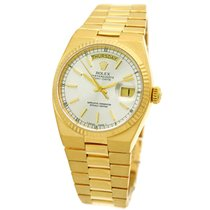 Rolex 18K Yellow Gold 36mm Day Date President Oyster Quartz...