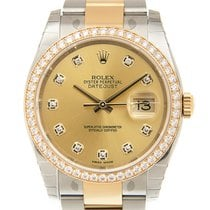 勞力士 Datejust Gold And Steel Gold Automatic 116243GCH_O