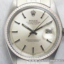 Rolex Vintage Oyster DateJust 1601 quadrante argento