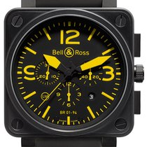 Bell & Ross BR 01-94 Chronographe BR01-94 YELLOW new
