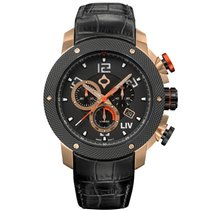Liv Watches Ocel 45mm Quartz 1260.45.190.A201.D200 nové