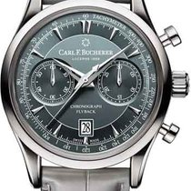 Carl F. Bucherer new Automatic Display back Small seconds Steel Sapphire crystal