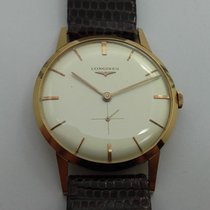 Longines Extra Plate Boitier Or 18k Mouvement A Remontage...