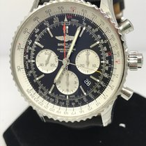 Breitling Navitmer Rattrapante Automatic Chronograph Men's...