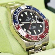 Rolex Gmt Master II Pepsi 116719 Blro Ceramic Bezel 18k White...