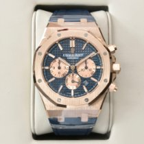 Audemars Piguet Chronograf 41mm Automatika 2019 nové Royal Oak Chronograph Modrá