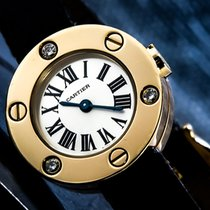 Cartier 23mm Quartz pre-owned Silver