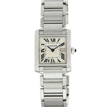 Cartier Tank Française pre-owned 25mm Steel