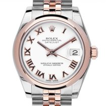 Rolex Chronometer 31mm Automatik neu Lady-Datejust Weiß