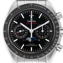 Omega Speedmaster Professional Moonwatch Moonphase 304.30.44.52.01.001 new