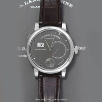 A. Lange & Söhne White gold Manual winding Grey 45.9mm pre-owned Lange 31