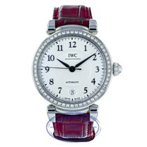 IWC Women's watch Da Vinci Automatic 36mm Automatic pre-owned Watch with original box and original papers 2017
