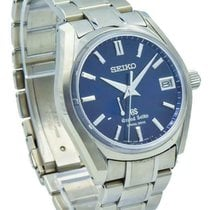 Seiko Titanium Automatic Blue 40mm pre-owned Grand Seiko