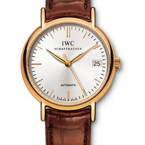 IWC Rose gold 34mm Automatic IW356403 pre-owned
