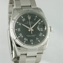 Rolex Steel 34mm Automatic 115210 pre-owned