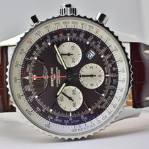Breitling Navitimer Rattrapante Steel 45mm Brown No numerals