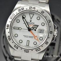 Rolex Explorer II 216570 White 2016 pre-owned