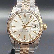Rolex Or rose Remontage automatique Champagne Sans chiffres 36mm occasion Datejust