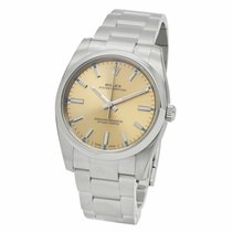 Rolex Oyster Perpetual 34 Acero 34mm Champán