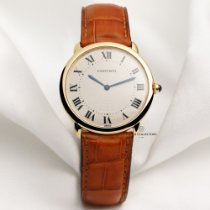 Cartier Ronde Louis Cartier pre-owned 33.5mm Yellow gold