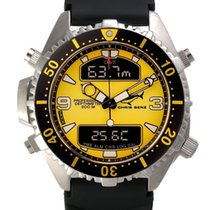 Chris Benz Depthmeter Digital CB-D200-Y-KBS Herrenchronograph...