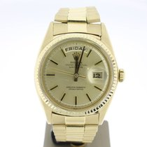 Rolex Day-Date 36mm YellowGold (B&P1988) Plexi MINT Automatic