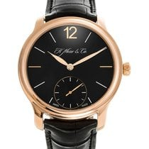 H.Moser & Cie. 39mm Automatic 2016 pre-owned Endeavour Black