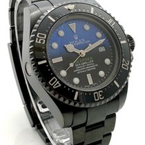 Rolex Deep Sea DLC Black James Cameron Blue Black Dial