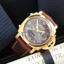 Panerai Pam 00319 Luminor 1950 Rattrapante 8 days 47 mm pink gold