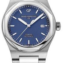 Girard Perregaux Laureato Steel Blue United States of America, New York, Brooklyn