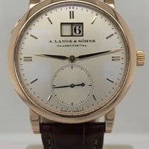 A. Lange & Söhne Rose gold Automatic Silver 37mm pre-owned