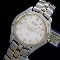 Seiko Kinetic Flat 4M21-0B40 no box or papers NOS