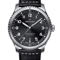Breitling Navitimer 8 Steel 41mm Black Arabic numerals United States of America, Iowa, Des Moines