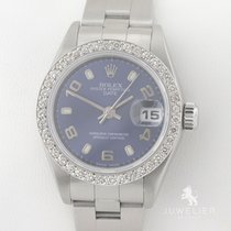 Rolex Oyster Perpetual Lady Date gebraucht 26mm Stahl