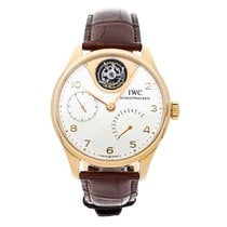 IWC Portuguese Tourbillon Rose gold 44mm Silver Arabic numerals United States of America, Pennsylvania, Bala Cynwyd