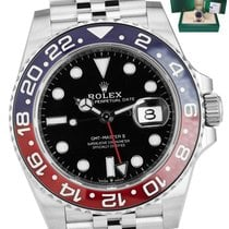 Rolex 126710 BLRO Steel GMT-Master II 40mm pre-owned United States of America, New York, Smithtown