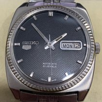 Seiko Steel 35.5mm Automatic 5 pre-owned Singapore, Singapore