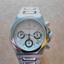 Girard Perregaux Laureato occasion 40mm Blanc Chronographe Date Acier