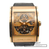 Jorg Hysek Rose gold 39.5mm Manual winding pre-owned United States of America, Florida, Hallandale Beach