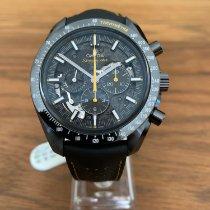 Omega Углерод Механические Чёрный Без цифр 44.25mm новые Speedmaster Professional Moonwatch