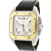 Cartier Santos 100 Steel 43mm Silver United States of America, New York, New York